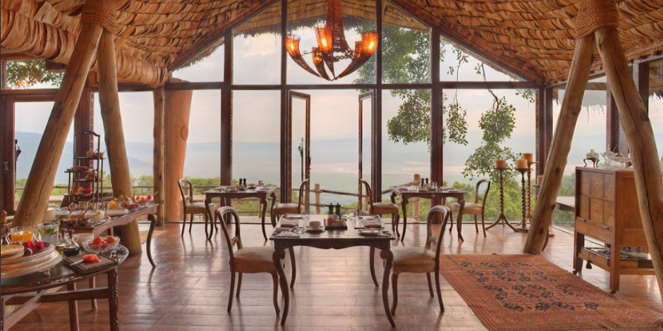 Andbeyond Ngorongoro Crater Lodge en Tanzanie
