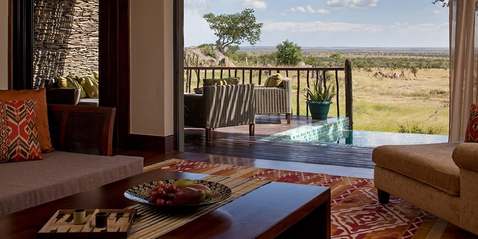 Hotel Four Seasons Serengti en Tanzanie