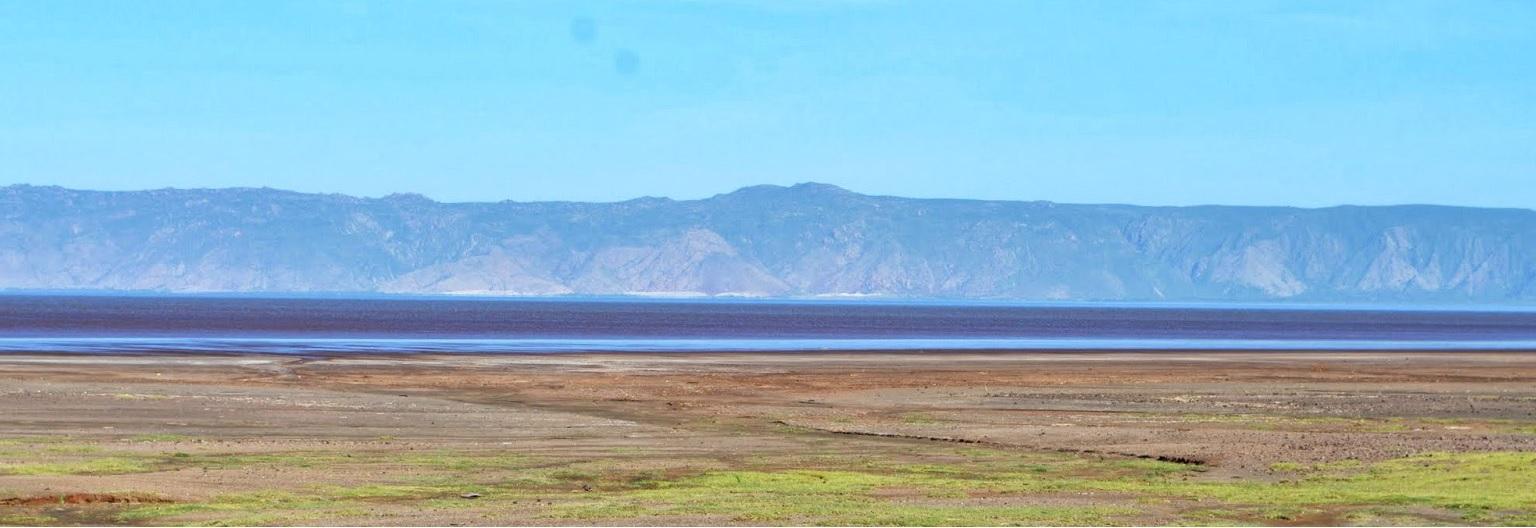 Panorama du lac Eyasi